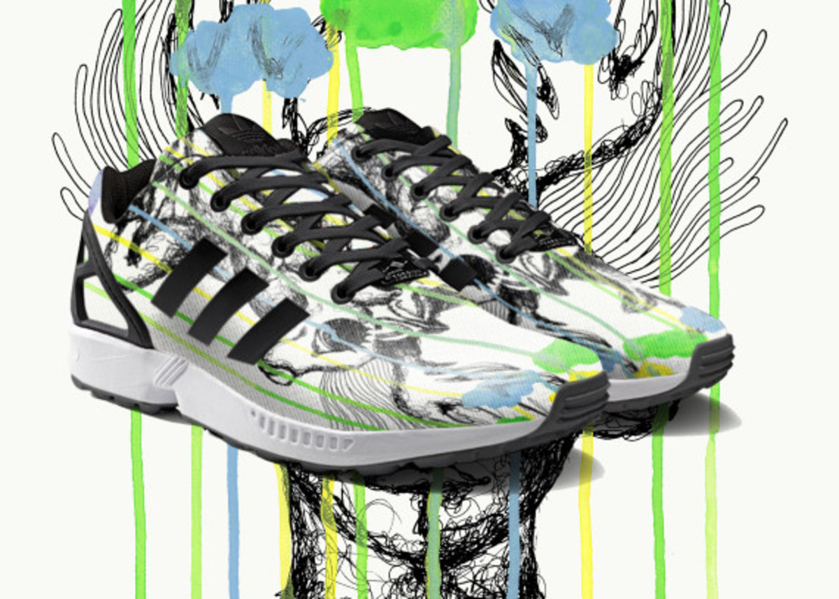 adidas ZX Flux To Become mi Adidas Design Option with Photorealistic Print - 2