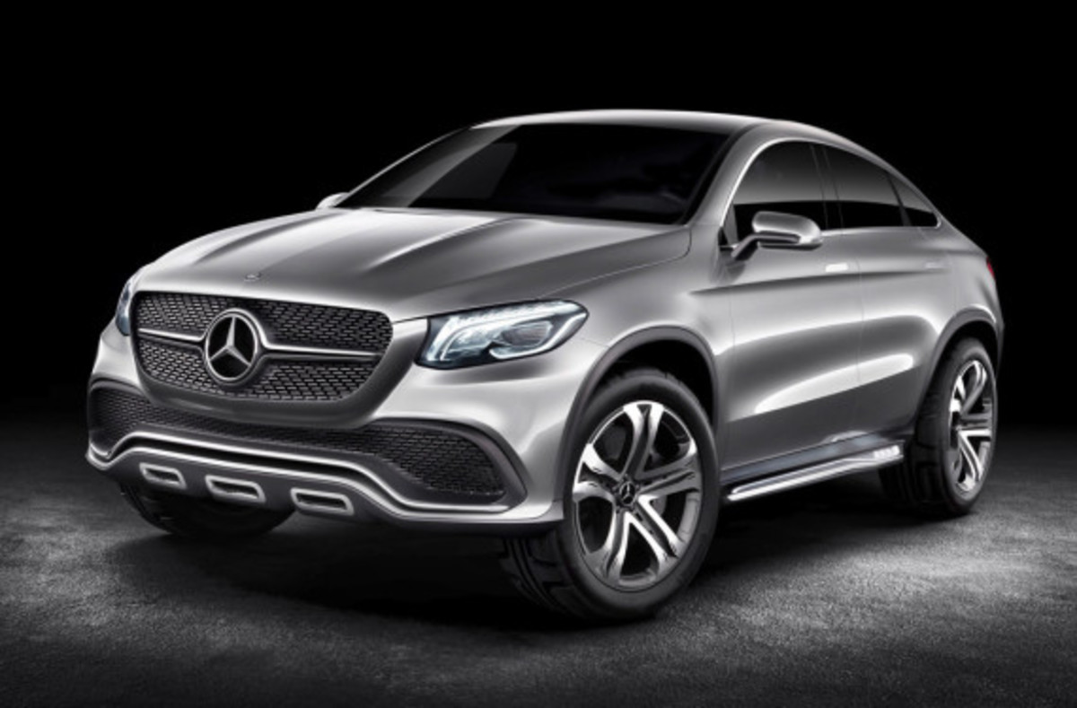 Mercedes-Benz Concept Coupe SUV - MLC Luxury Crossover - 0