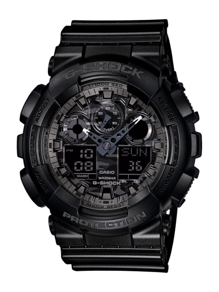 Casio G-Shock - Camo Plated Dial Semi Glossy Series - 1