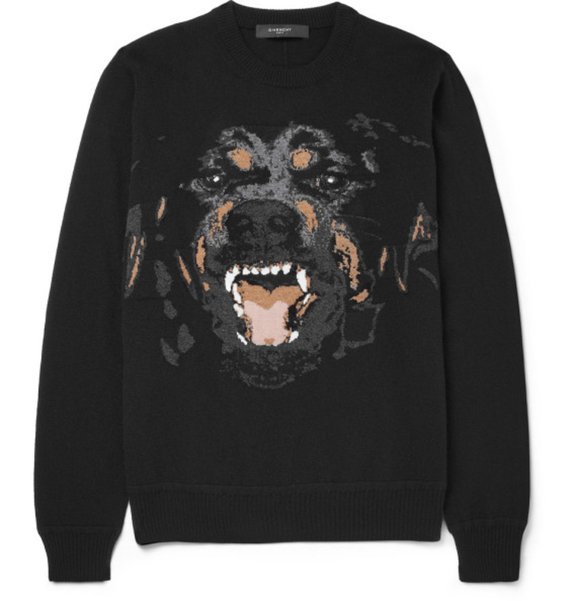 GIVENCHY – Rottweiler Print Cotton Sweatshirt - 1