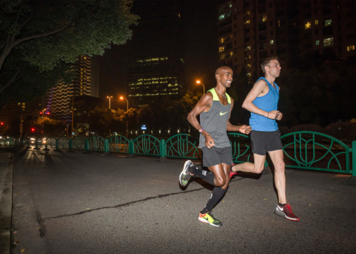 Nike Zoom Air - 2014 Greater China Media Summit with Mo Farah and Galen Rupp - 18