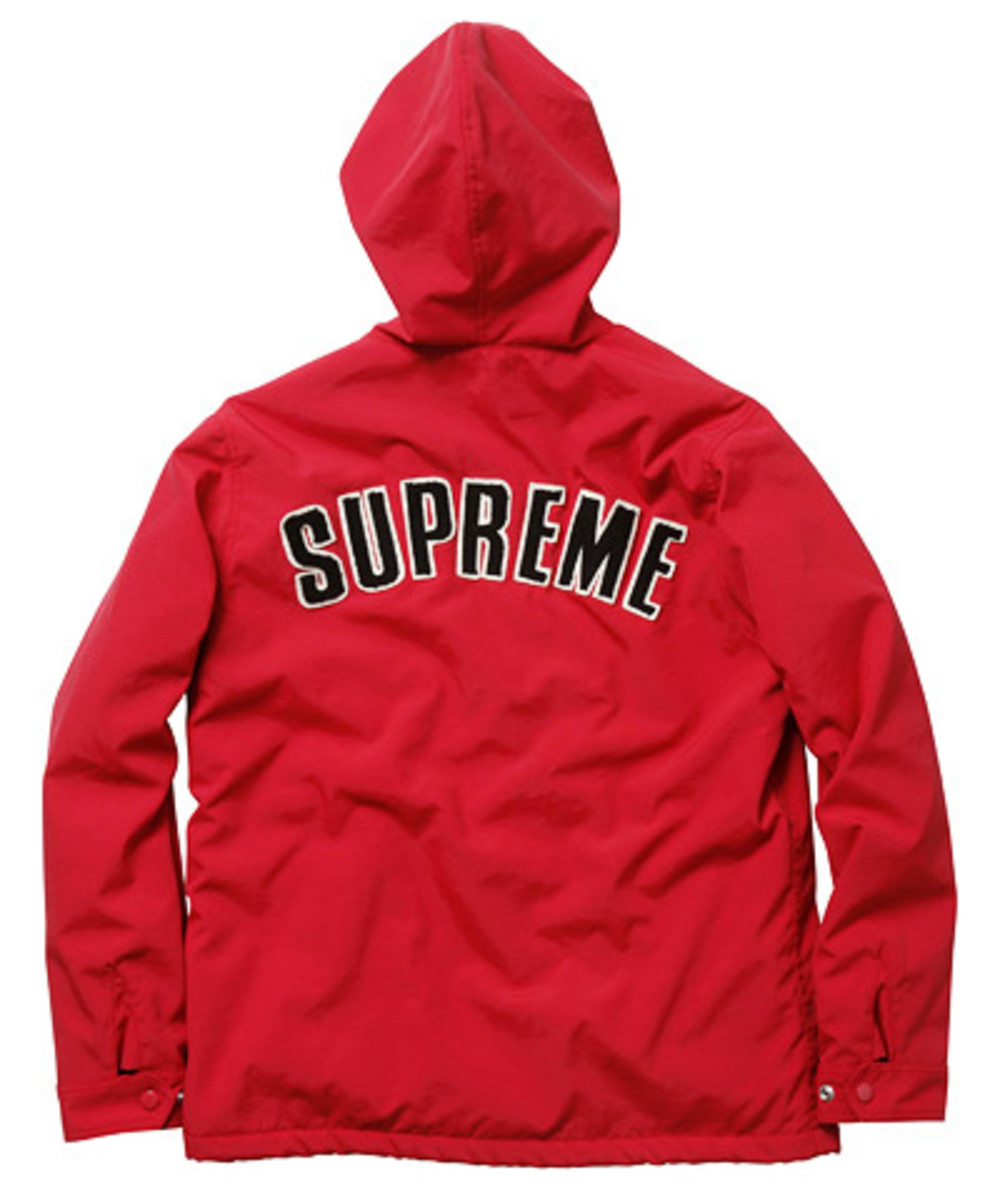 Supreme - Fall/Winter 2009 Collection - Stadium Jacket (Back)
