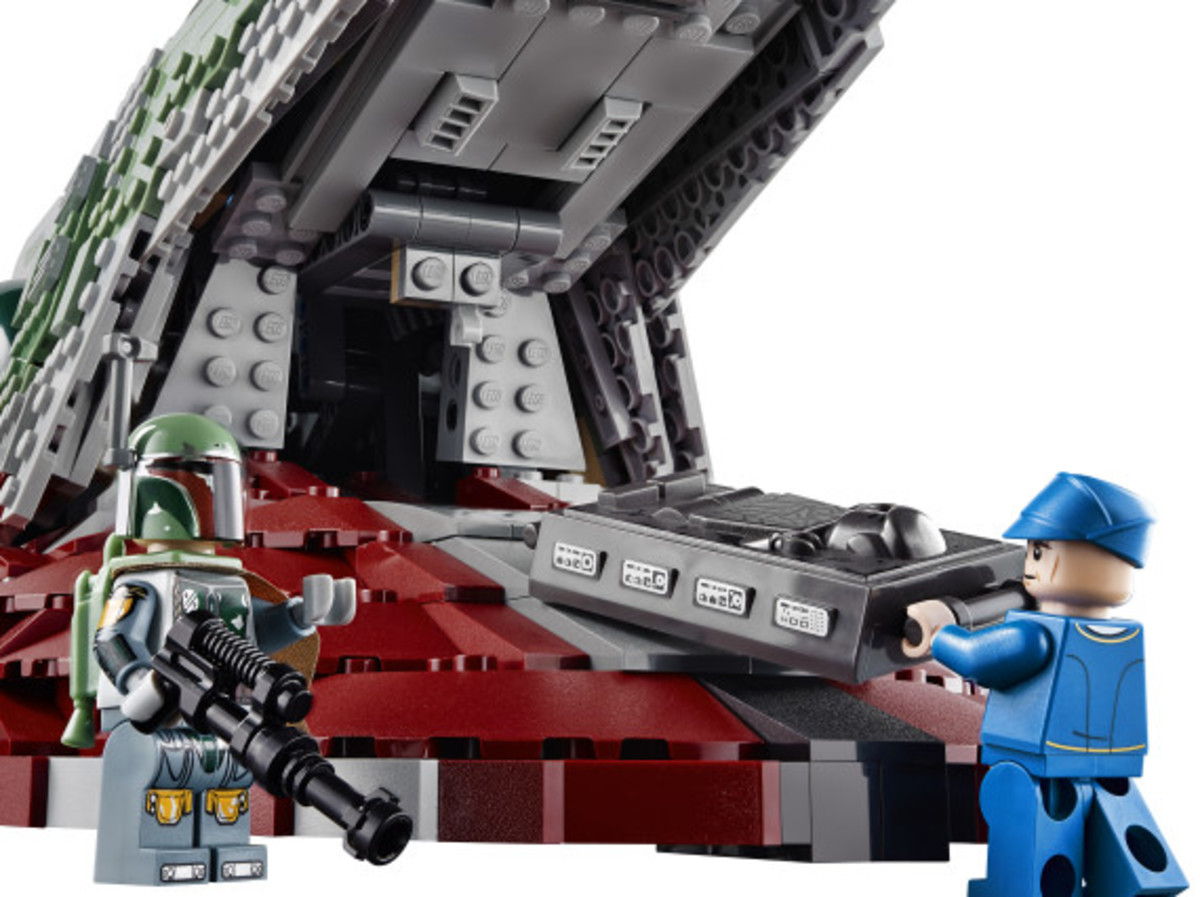 Star Wars x LEGO Ultimate Collector's Series: Boba Fett's Slave I Kit   Release Info - 16