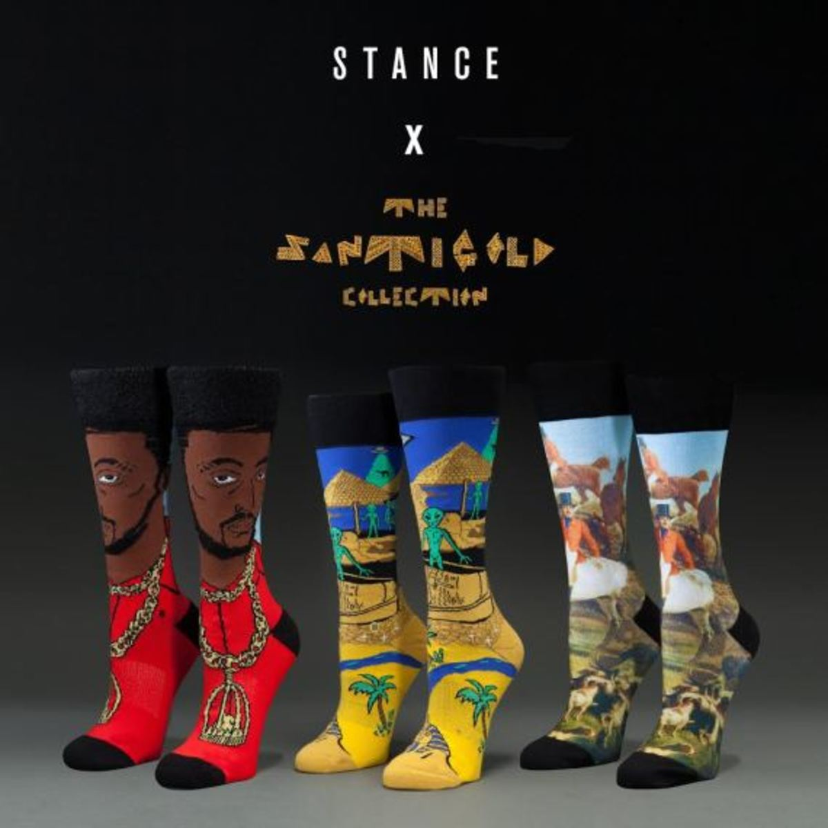 Santigold x Stance Socks - Holiday 2014 Collection - 0