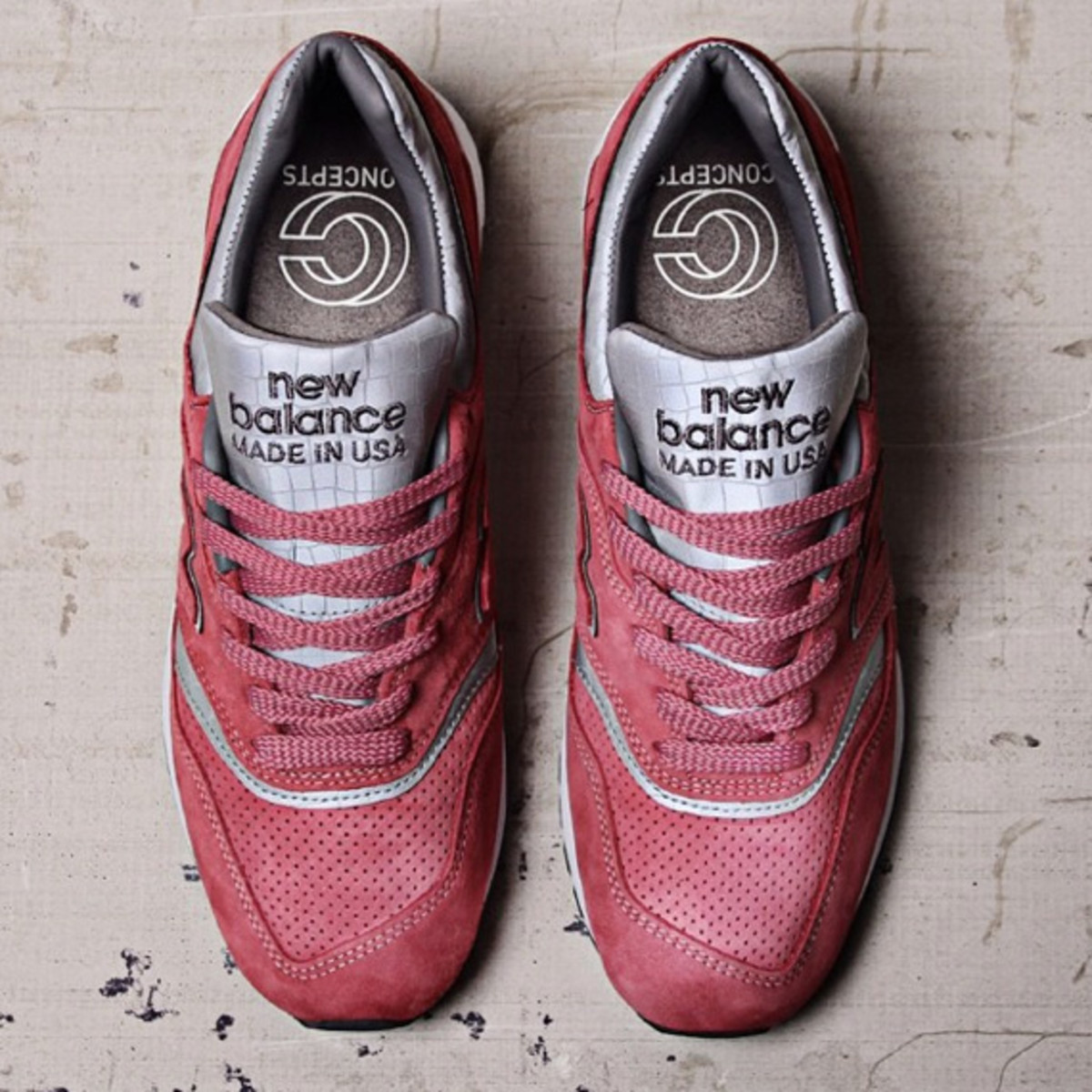 "CONCEPTS x New Balance 997 Made in USA ""Rosé"" 