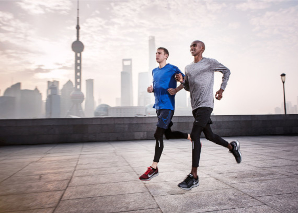 Nike Zoom Air - 2014 Greater China Media Summit with Mo Farah and Galen Rupp - 3