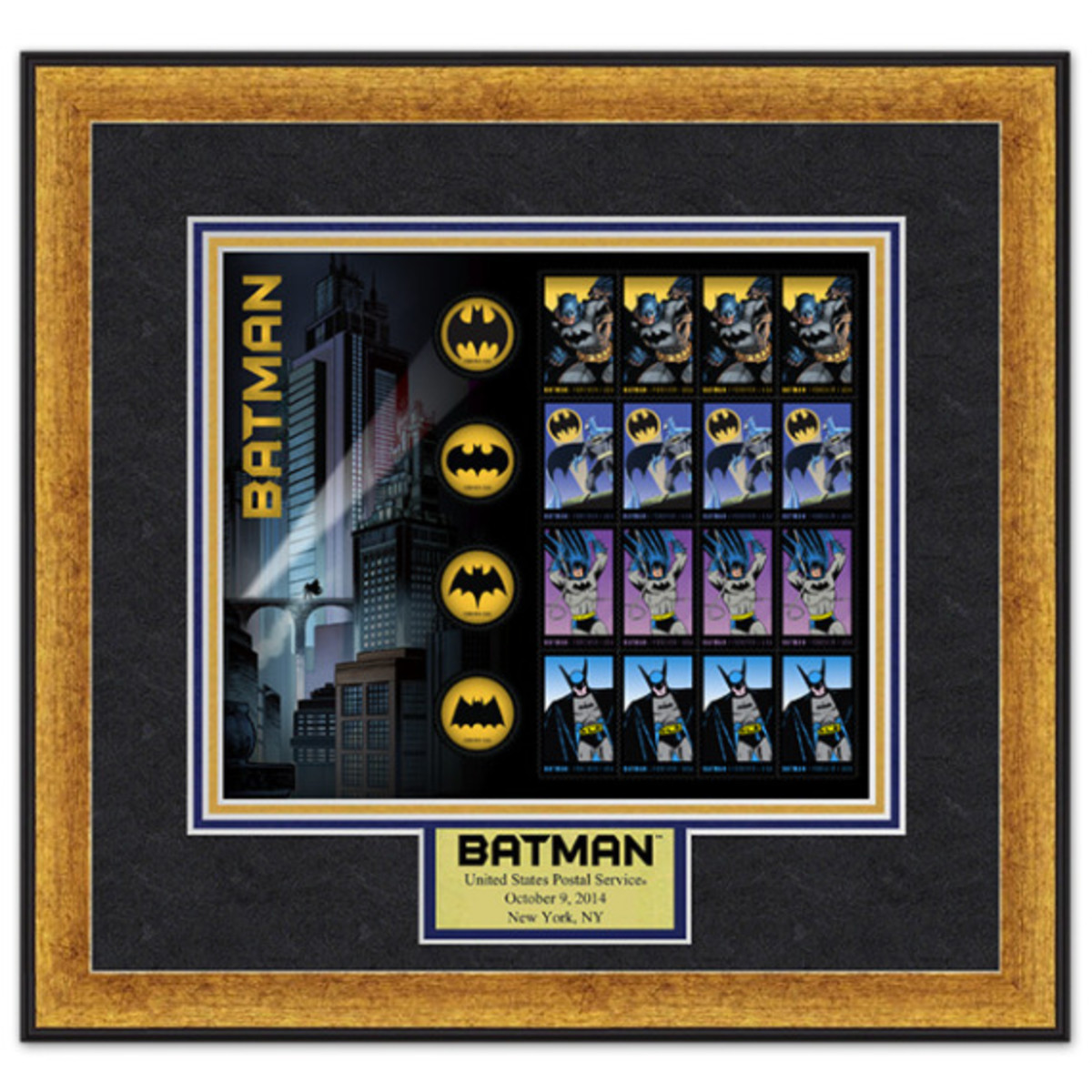 "DC Comics x US Postal Service - Limited Edition ""Batman"" Stamps - 8"
