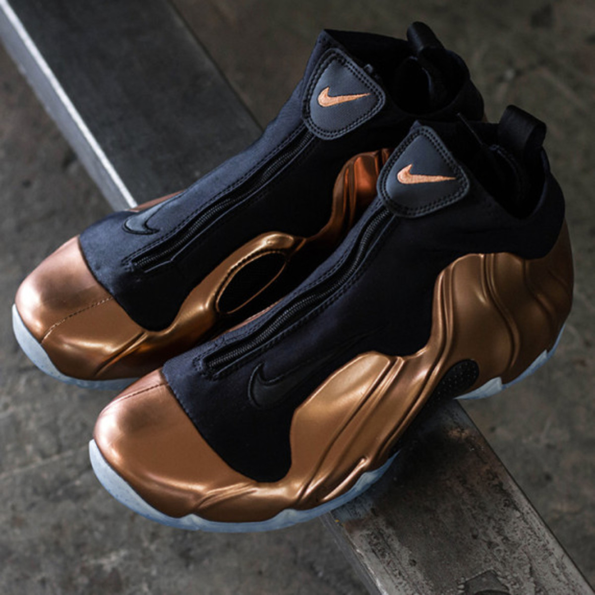 "Nike Air Flightposite 2014 Premium - ""Copper"" 