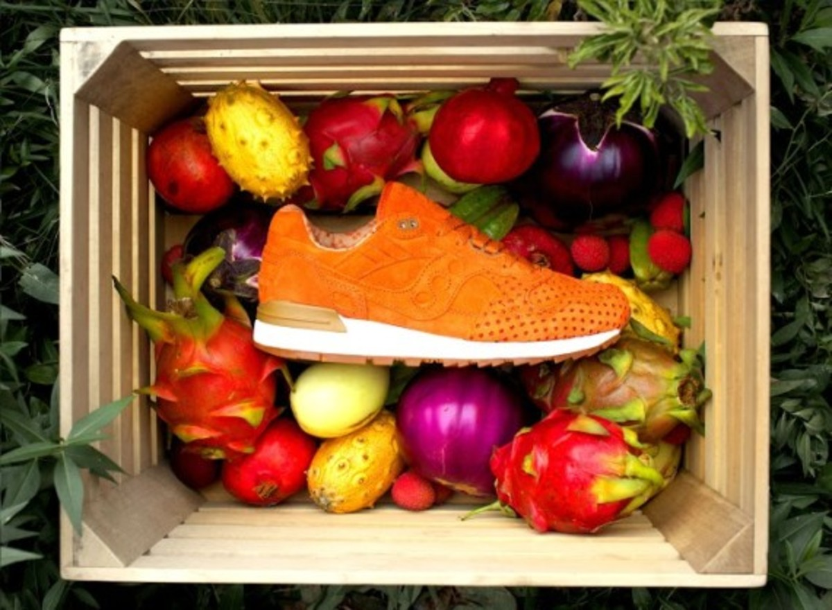 """Play Cloths x Saucony Shadow 5000 """"Strange Fruit"""" Pack - 3"""