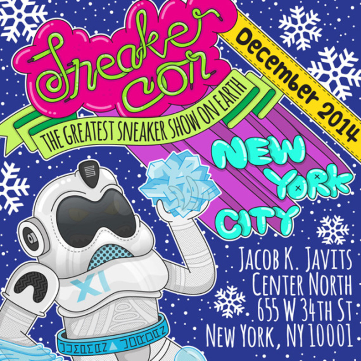 Sneaker Con New York City – December 6th, 2014 | Event Reminder - 3