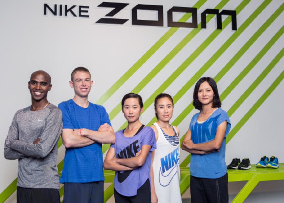 Nike Zoom Air - 2014 Greater China Media Summit with Mo Farah and Galen Rupp - 11