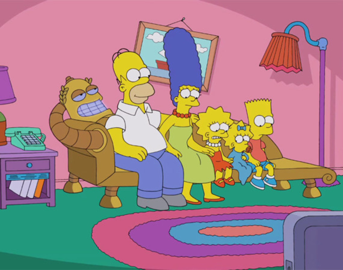 the-simpsons-futurama-crossover-couch-gag