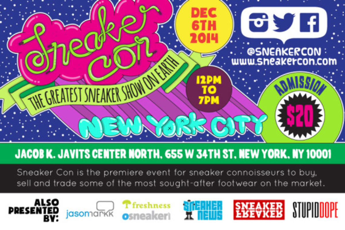 Sneaker Con New York City - Saturday, December 6th, 2014 - 2