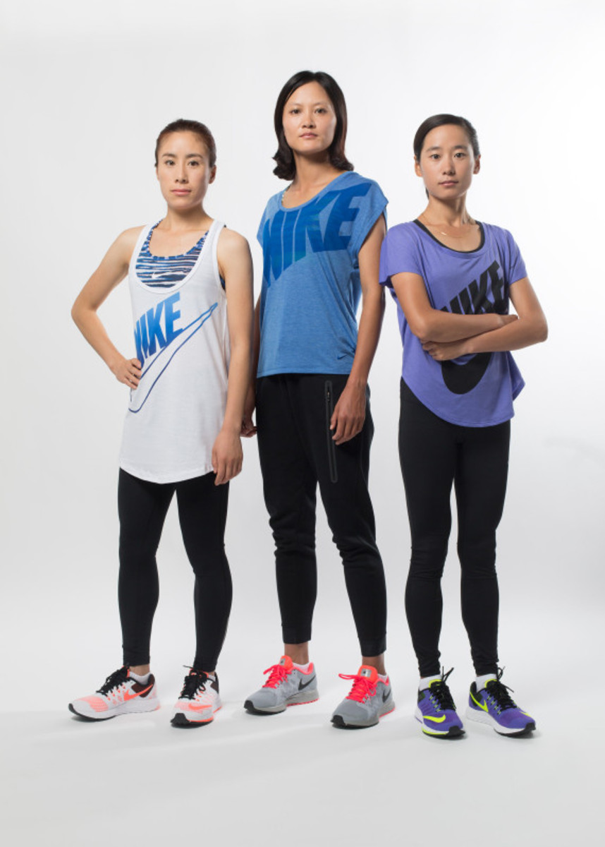 Nike Zoom Air - 2014 Greater China Media Summit with Mo Farah and Galen Rupp - 12