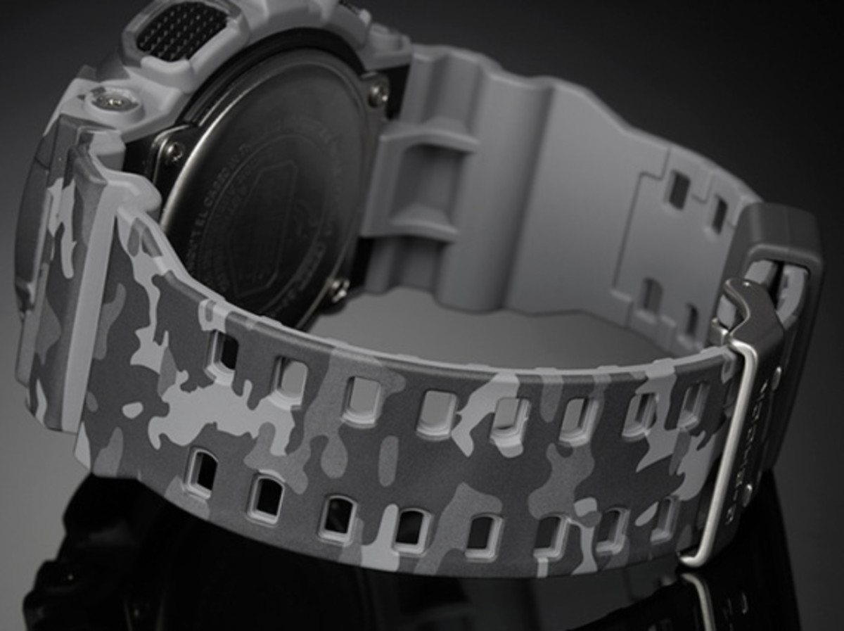 "Casio G-Shock GA-100CM Watch - ""Camouflage Plated Dial"" Series - 15"