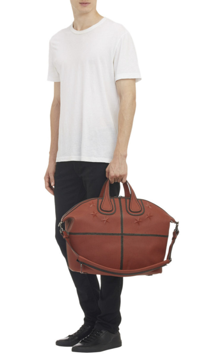 GIVENCHY - Star-Studded Nightingale Tote in Basketball Leather - 6