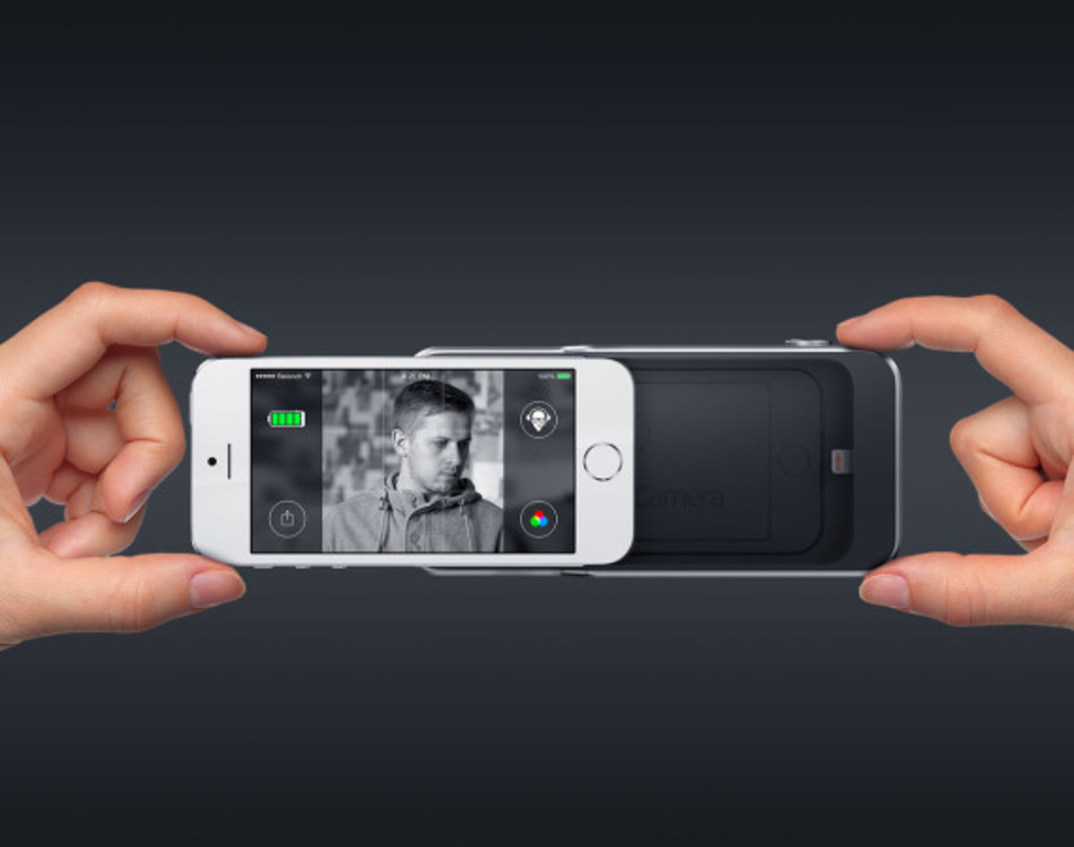 Relonch - Apple iPhone 5/6 Camera Attachment That Creates Print Quality Photos - 0