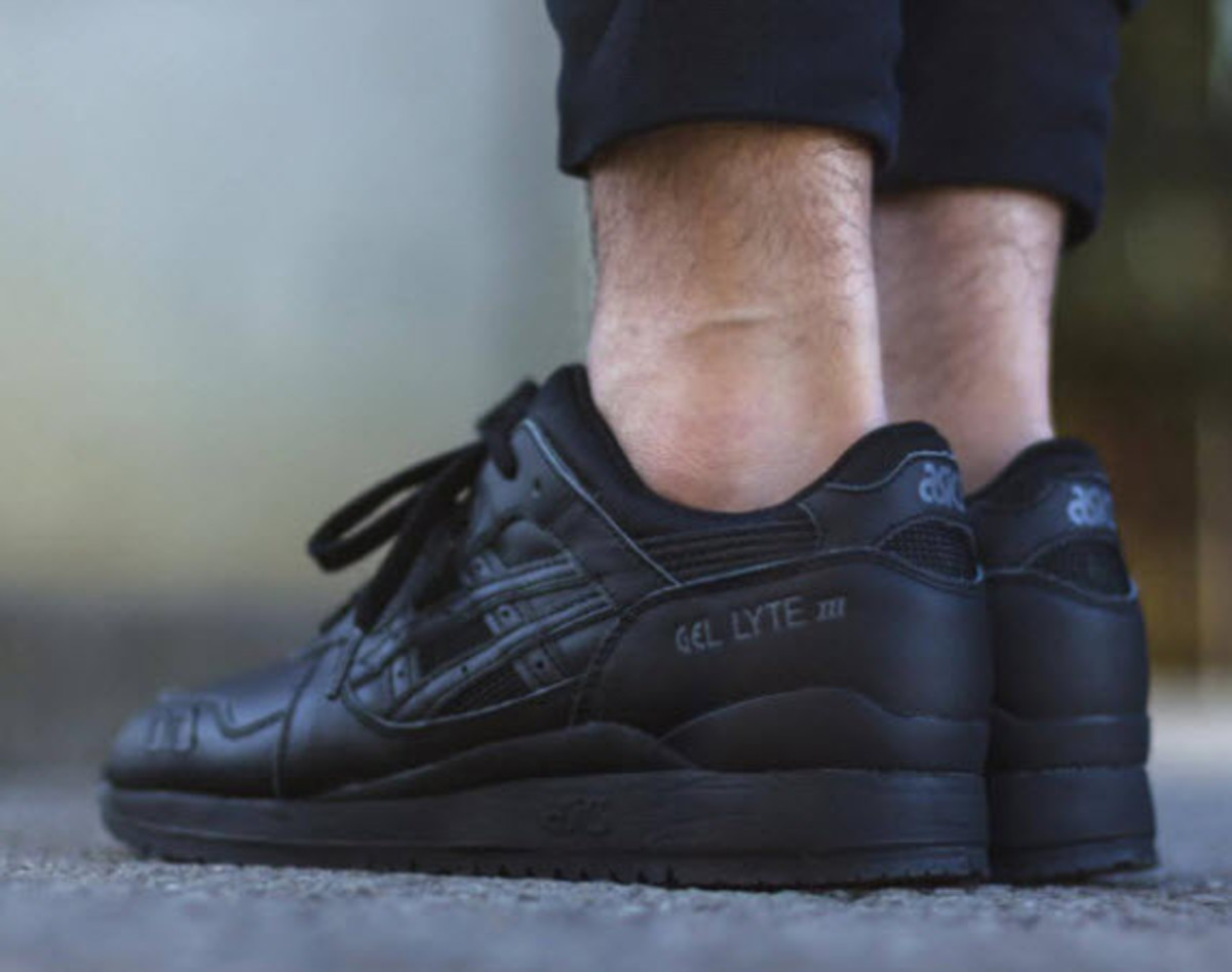 "ASICS Gel Lyte III - ""Triple Black"" - 0"