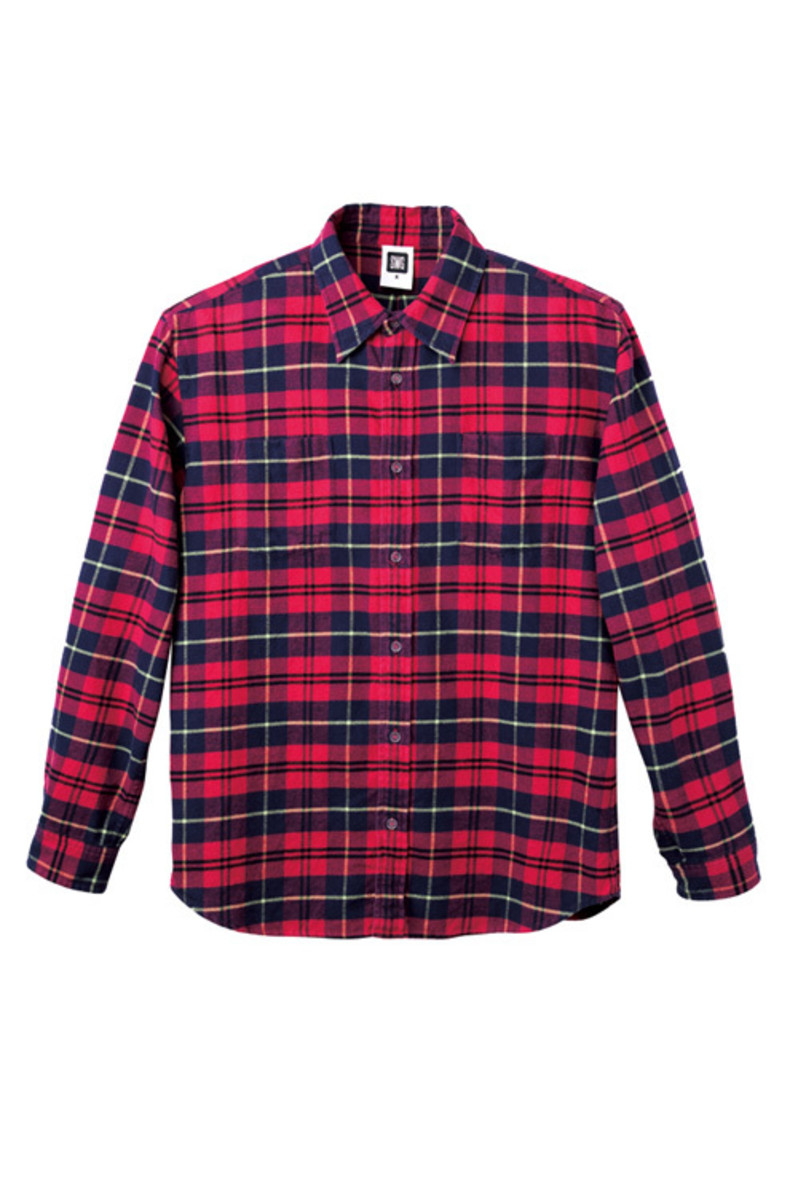 check-flannel-red