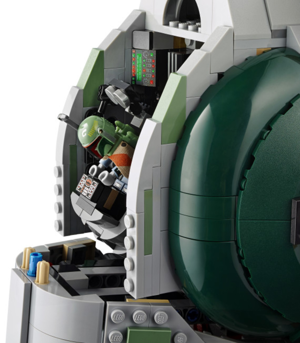 Star Wars x LEGO Ultimate Collector's Series: Boba Fett's Slave I Kit | Release Info - 15