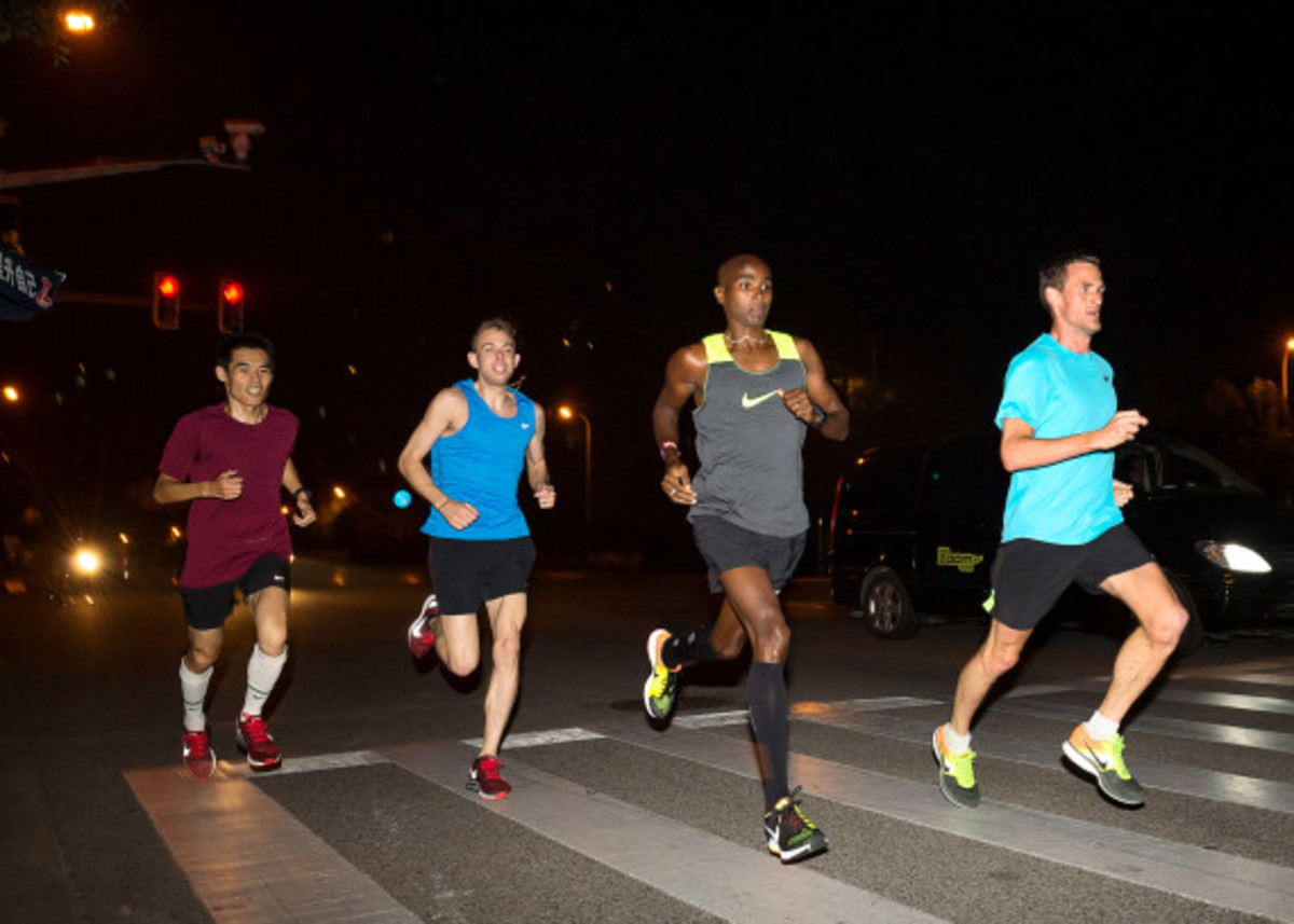 Nike Zoom Air - 2014 Greater China Media Summit with Mo Farah and Galen Rupp - 17