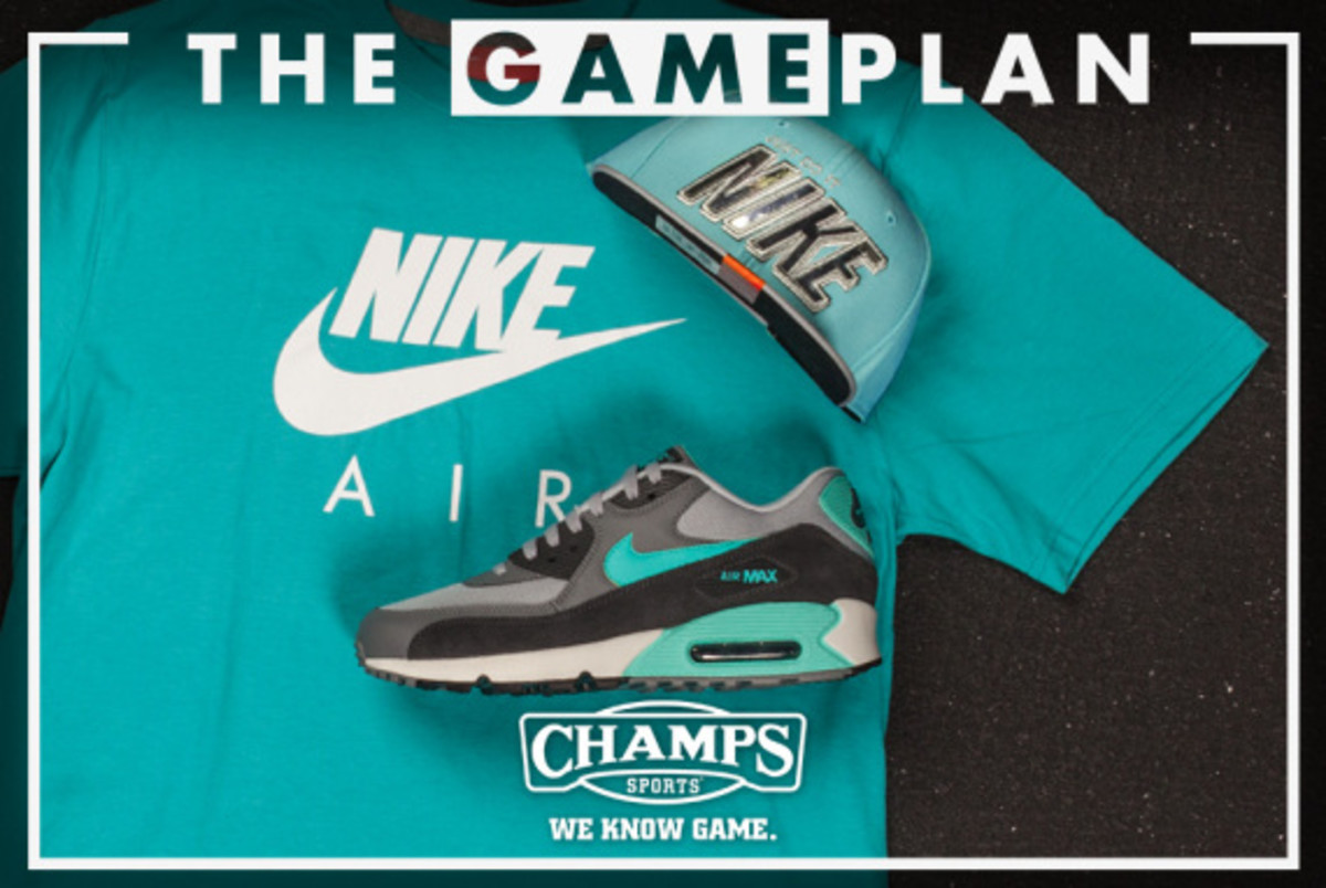 The Game Plan by Champs Sports - Nike Hyper Jade Collection - 1