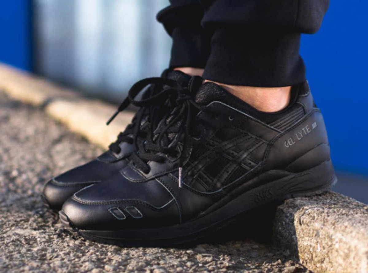 "ASICS Gel Lyte III - ""Triple Black"" - 3"