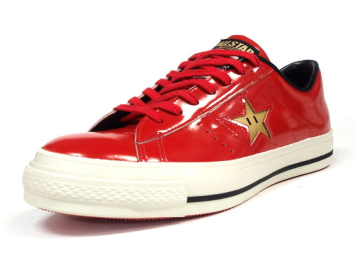 Super Mario Bros. x CONVERSE One Star Ox – 2014 Edition   Another Look - 0