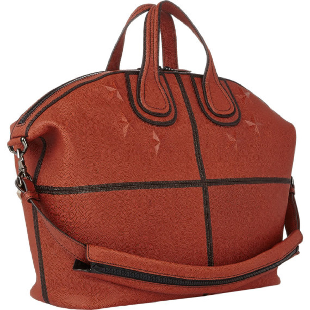 GIVENCHY - Star-Studded Nightingale Tote in Basketball Leather - 2