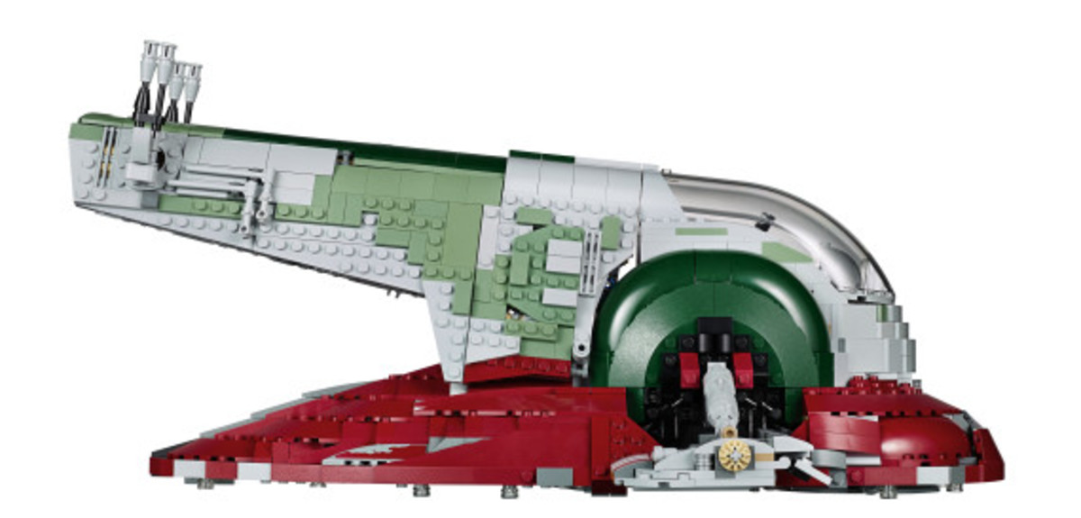 Star Wars x LEGO Ultimate Collector's Series: Boba Fett's Slave I Kit | Release Info - 11