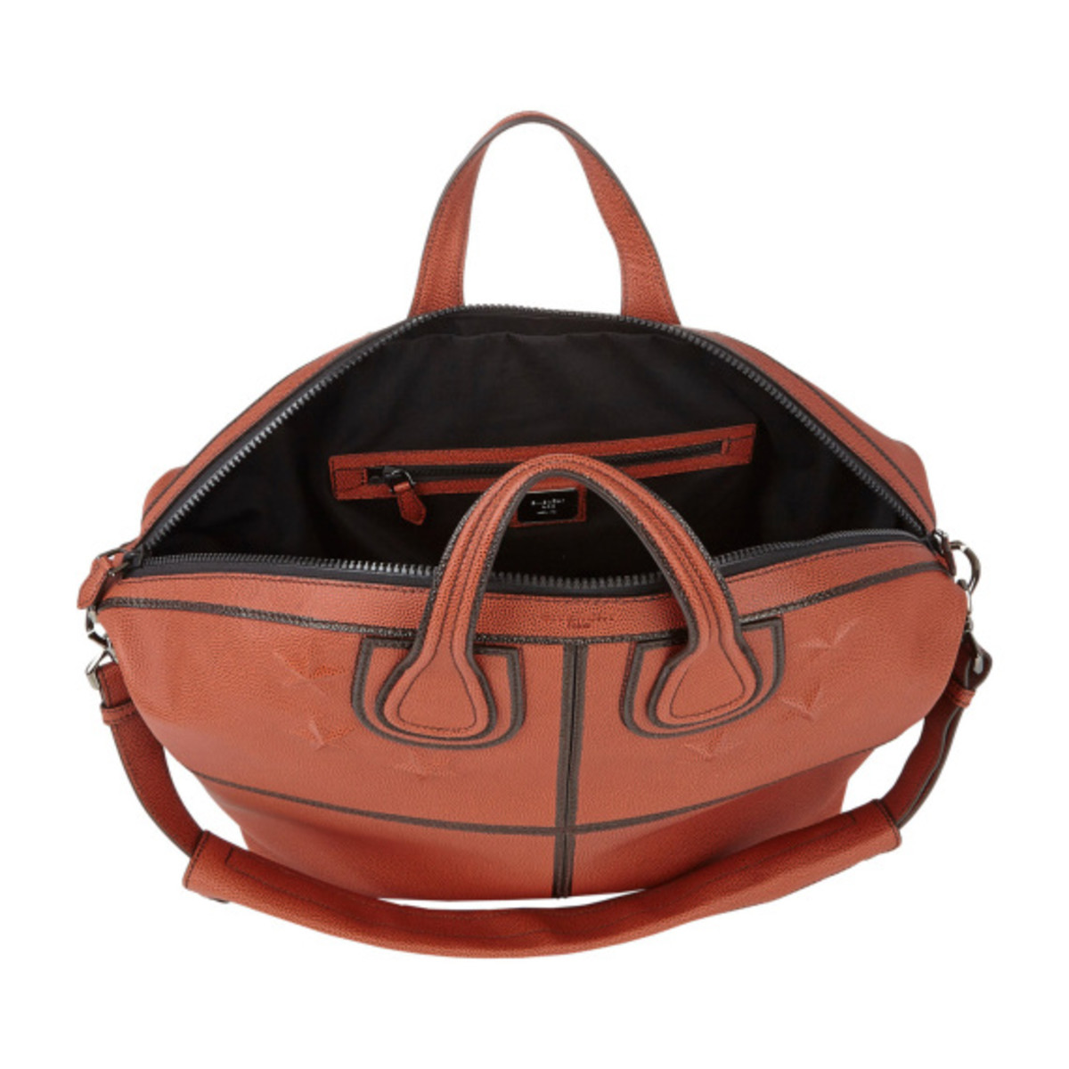 GIVENCHY - Star-Studded Nightingale Tote in Basketball Leather - 0