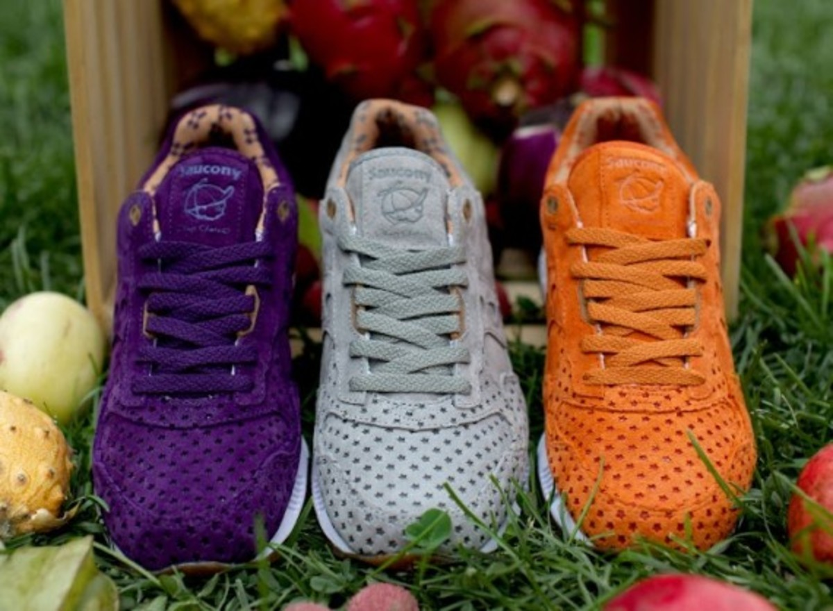 """Play Cloths x Saucony Shadow 5000 """"Strange Fruit"""" Pack - 10"""