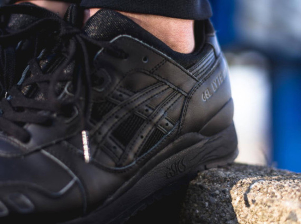 "ASICS Gel Lyte III - ""Triple Black"" - 5"