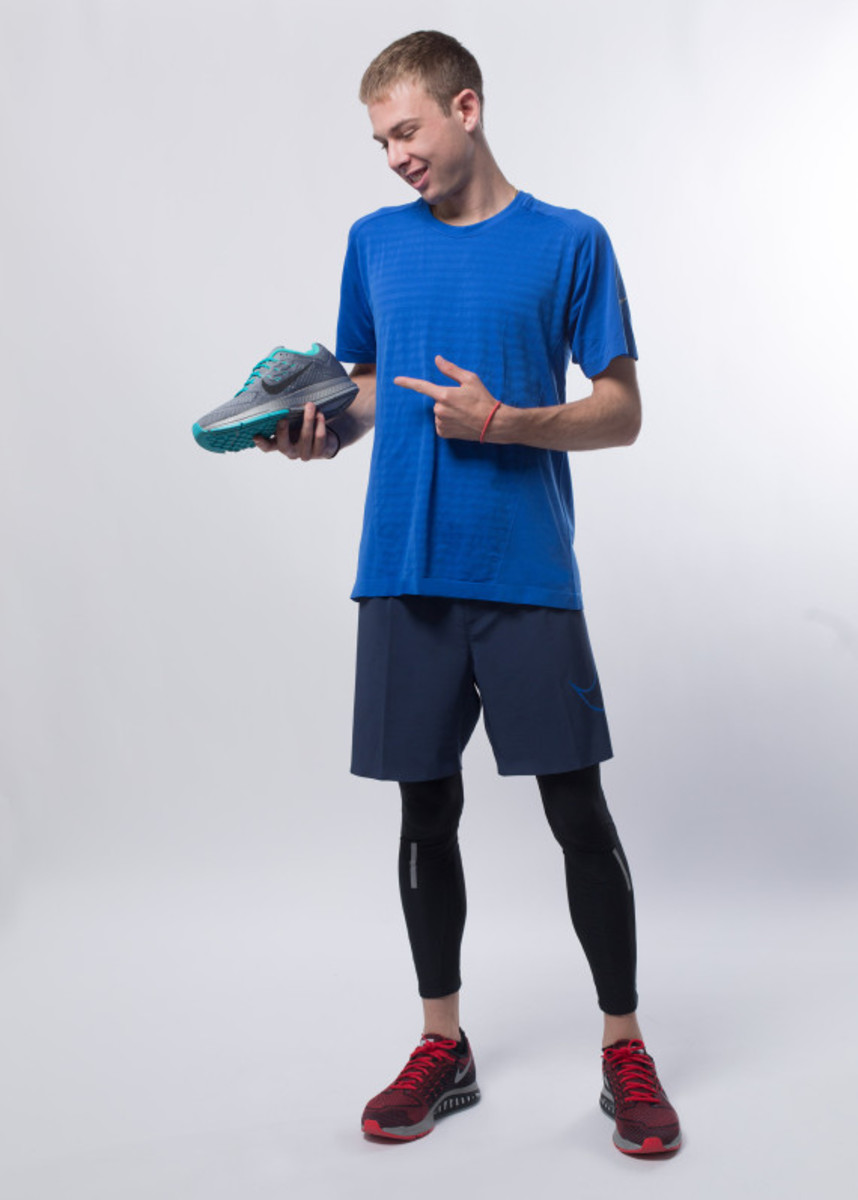 Nike Zoom Air - 2014 Greater China Media Summit with Mo Farah and Galen Rupp - 13