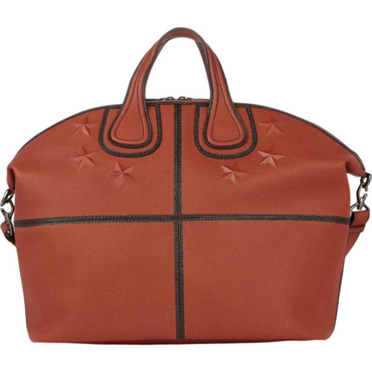 GIVENCHY - Star-Studded Nightingale Tote in Basketball Leather - 3