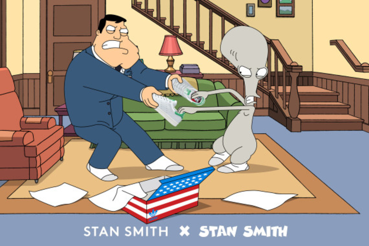 American Dad! collaborates with adidas Originals for Stan Smith x Stan Smith | Another Look - 2