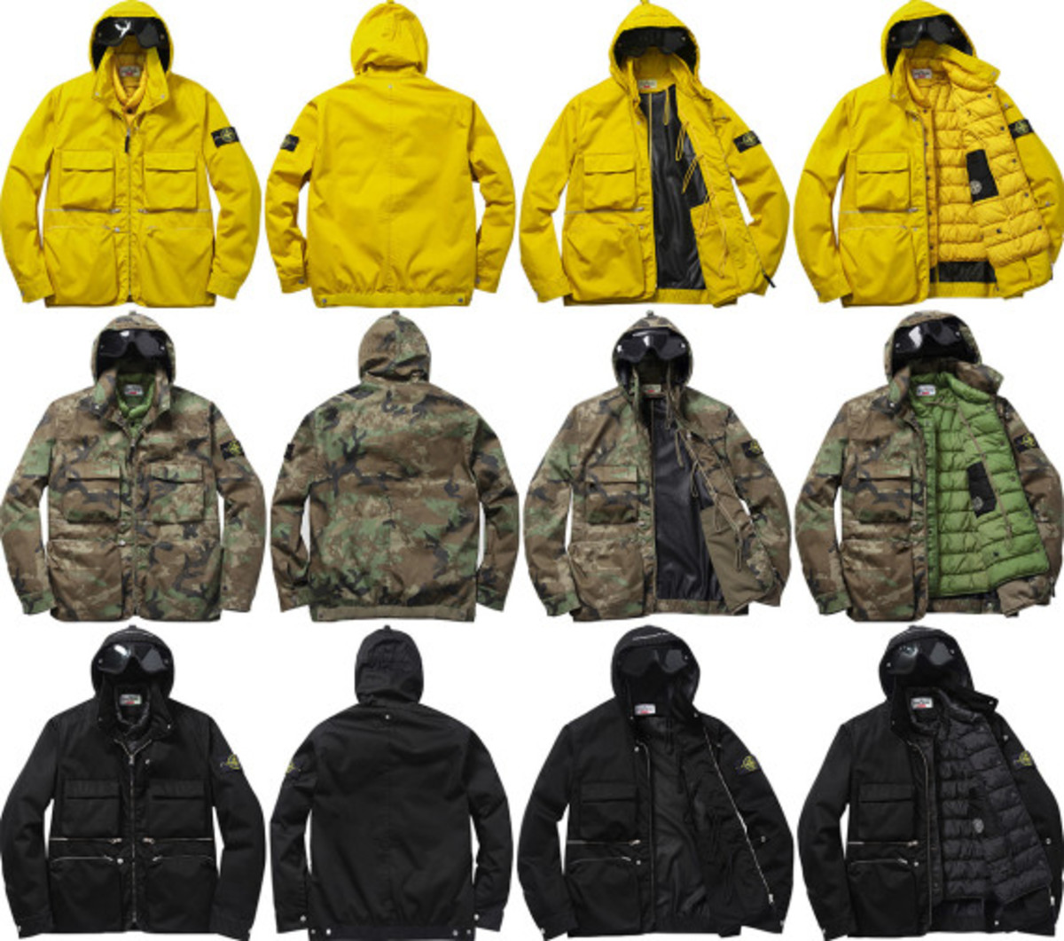 Supreme x Stone Island – Fall/Winter 2014 Collection | Available Now - 0