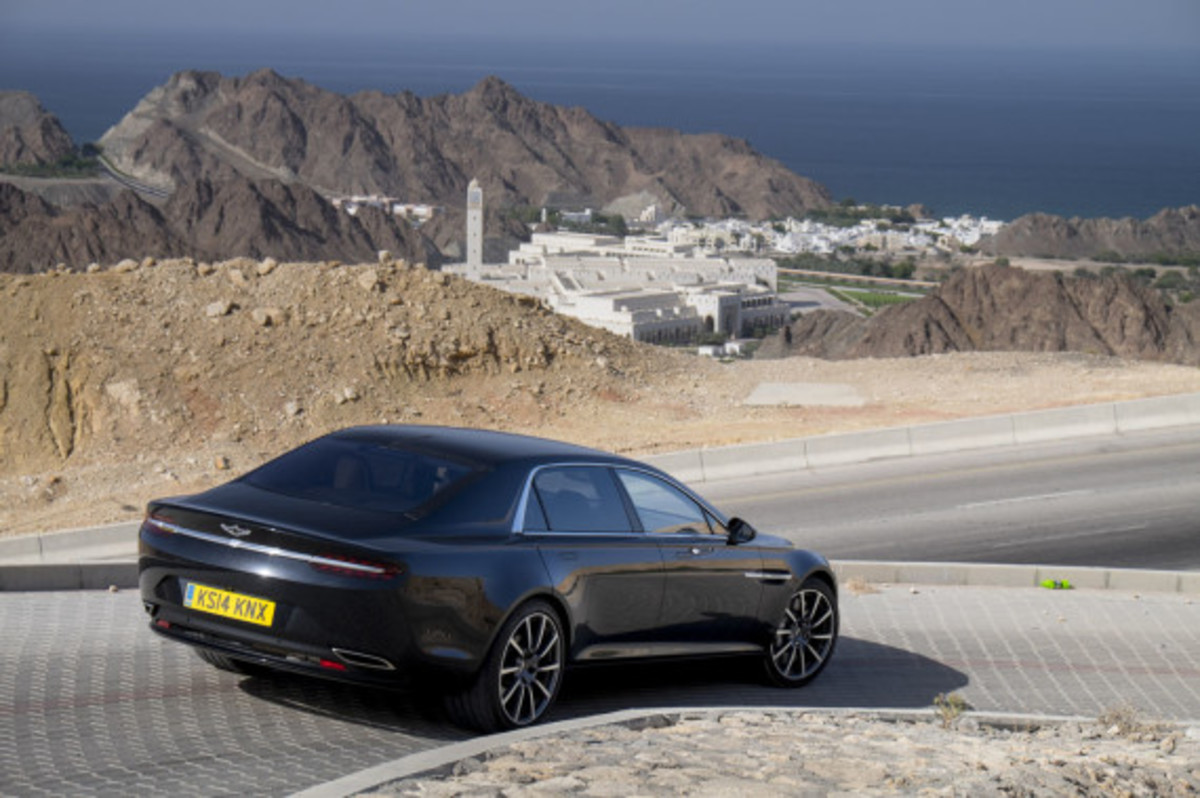 Aston Martin Lagonda Revealed - 3
