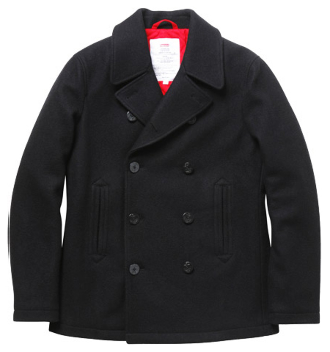 Supreme - Fall/Winter 2009 Collection - Wool Pea Coat (Navy)
