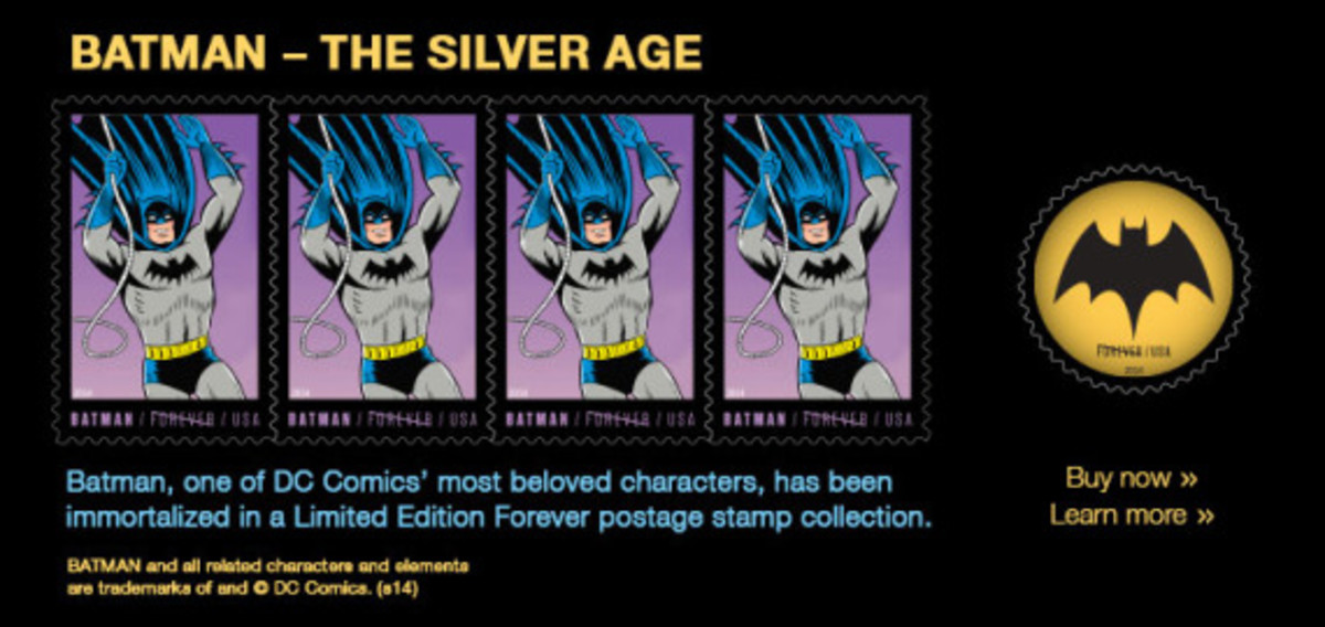 "DC Comics x US Postal Service - Limited Edition ""Batman"" Stamps - 6"