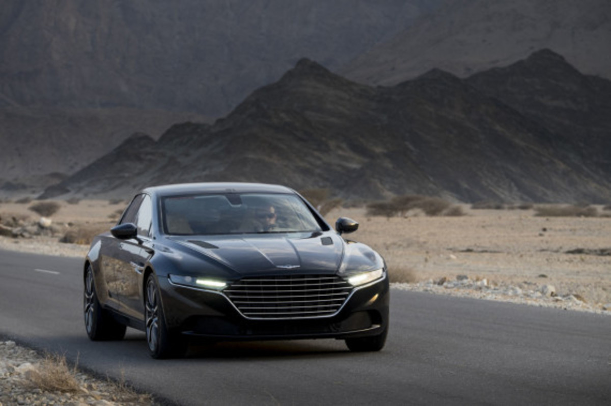 Aston Martin Lagonda Revealed - 1