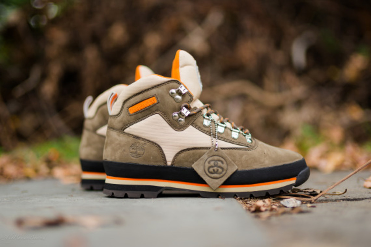 Stussy for Timberland – Euro Hiker Boots | Available Now - 5