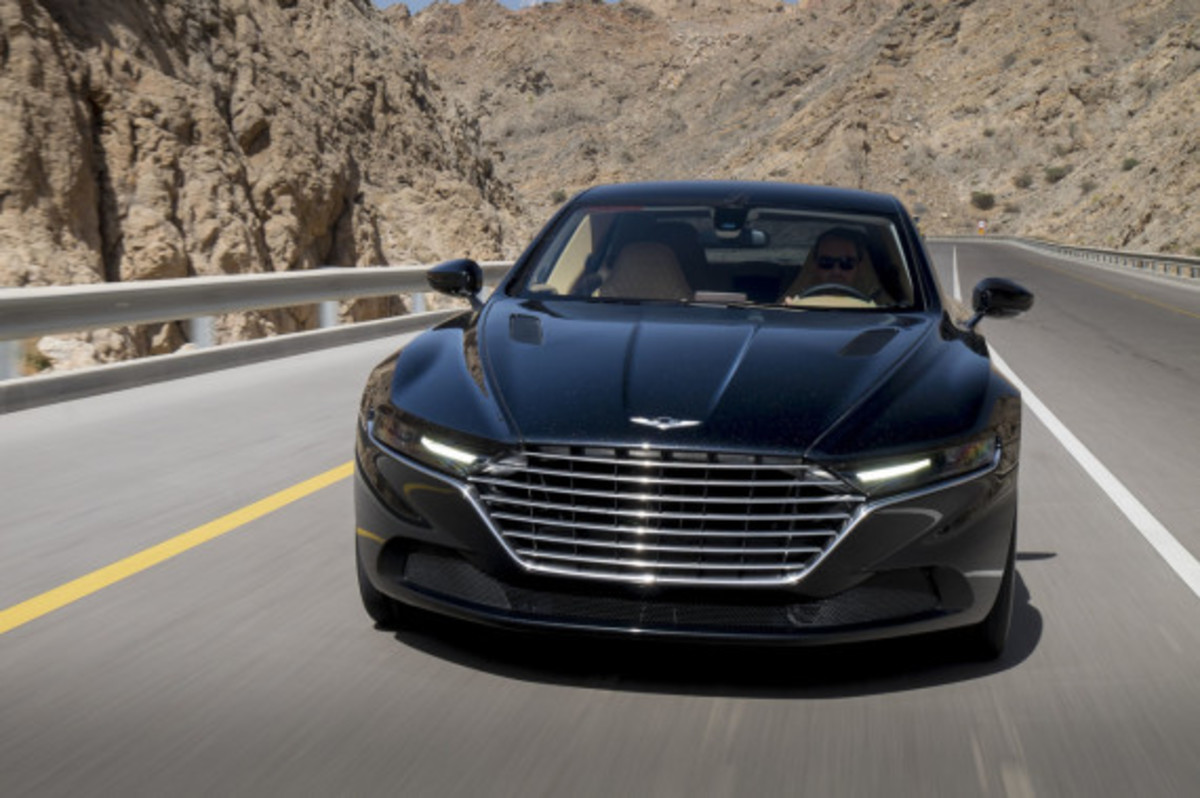 Aston Martin Lagonda Revealed - 2