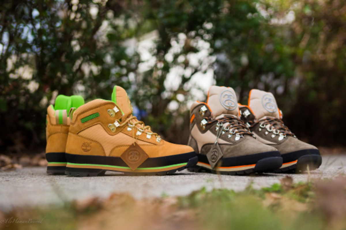 Stussy for Timberland – Euro Hiker Boots | Available Now - 15