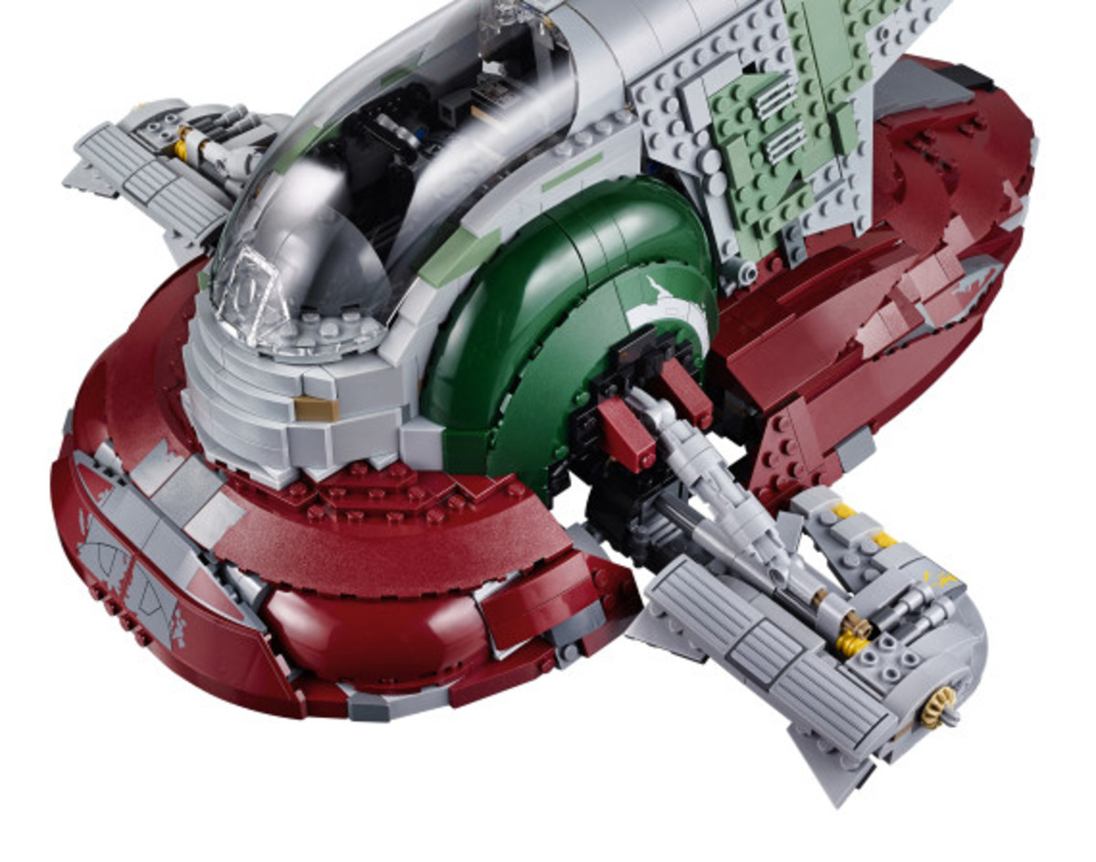 Star Wars x LEGO Ultimate Collector's Series: Boba Fett's Slave I Kit | Release Info - 14