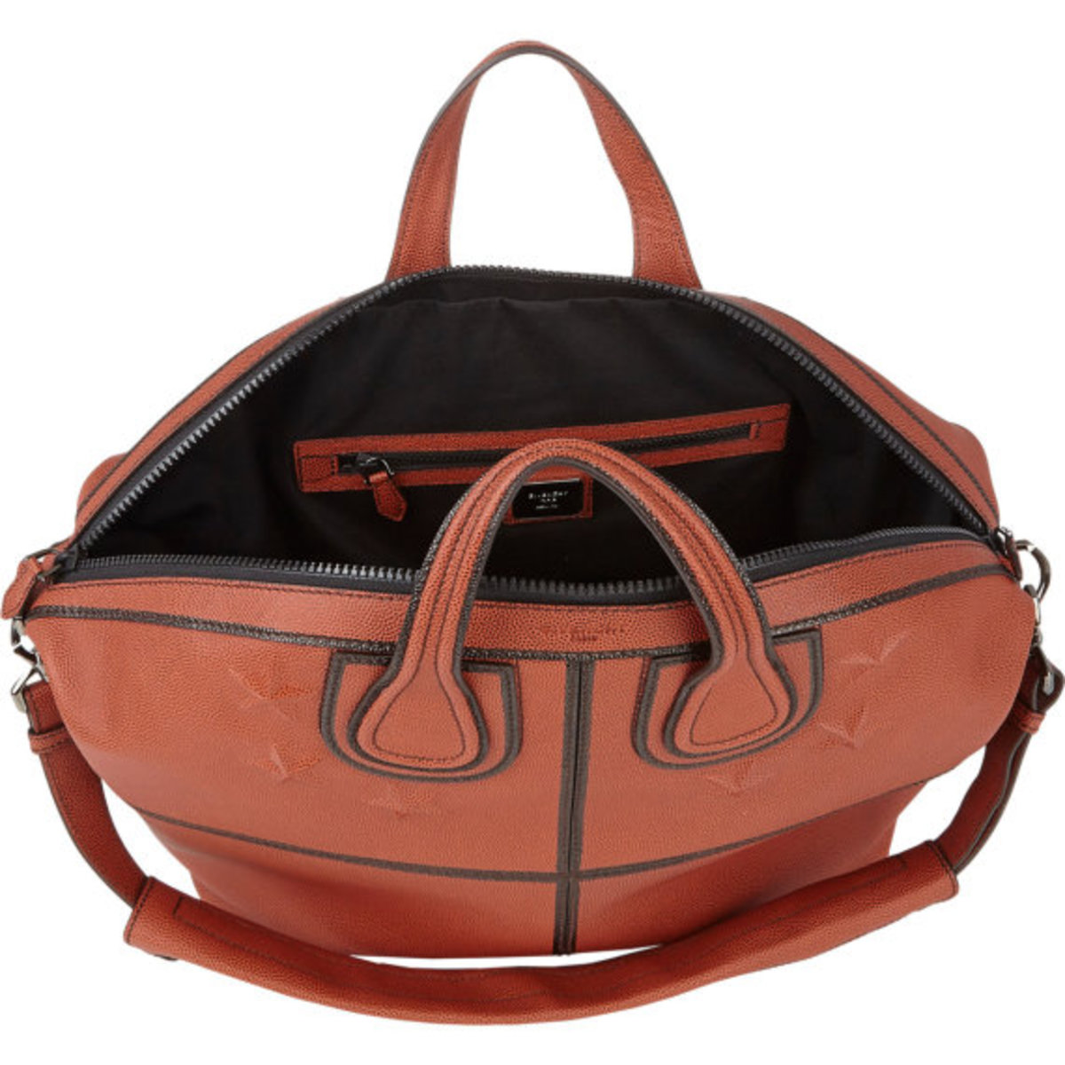 GIVENCHY - Star-Studded Nightingale Tote in Basketball Leather - 4