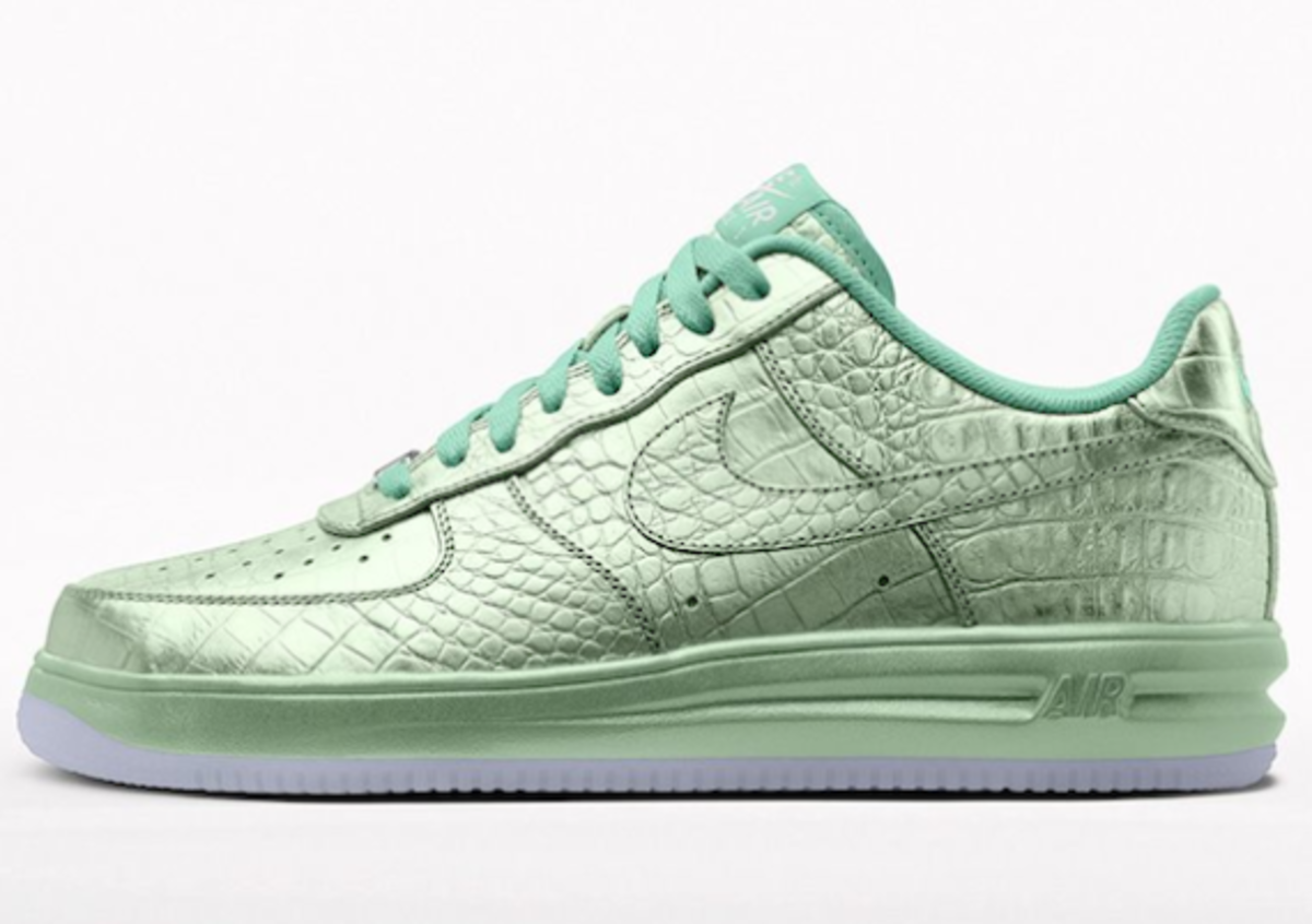 NIKEiD Air Force 1 Metallic Croc Option | Available Now - 0