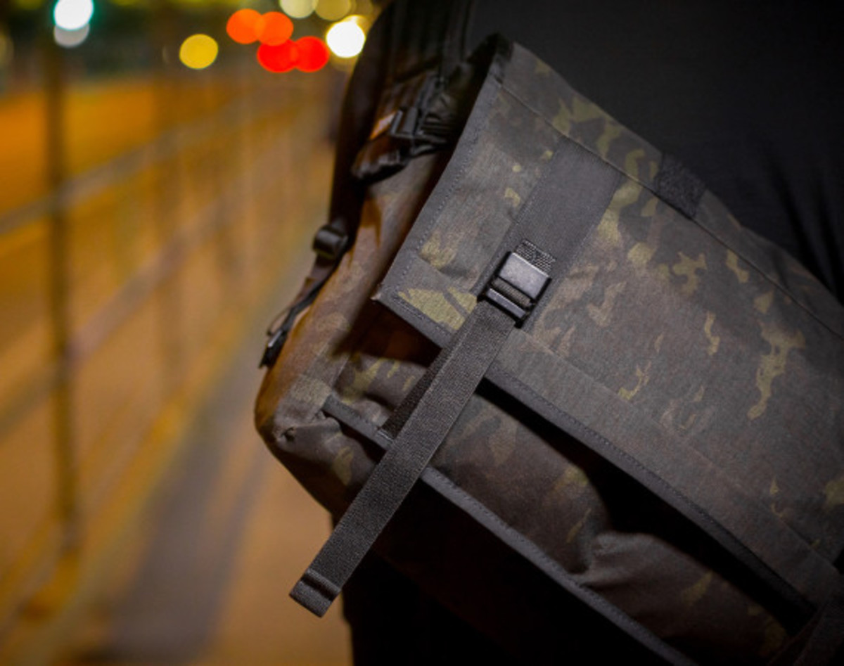 MISSION WORKSHOP - Black Camo Series Limited Edition Messenger Bag - 0