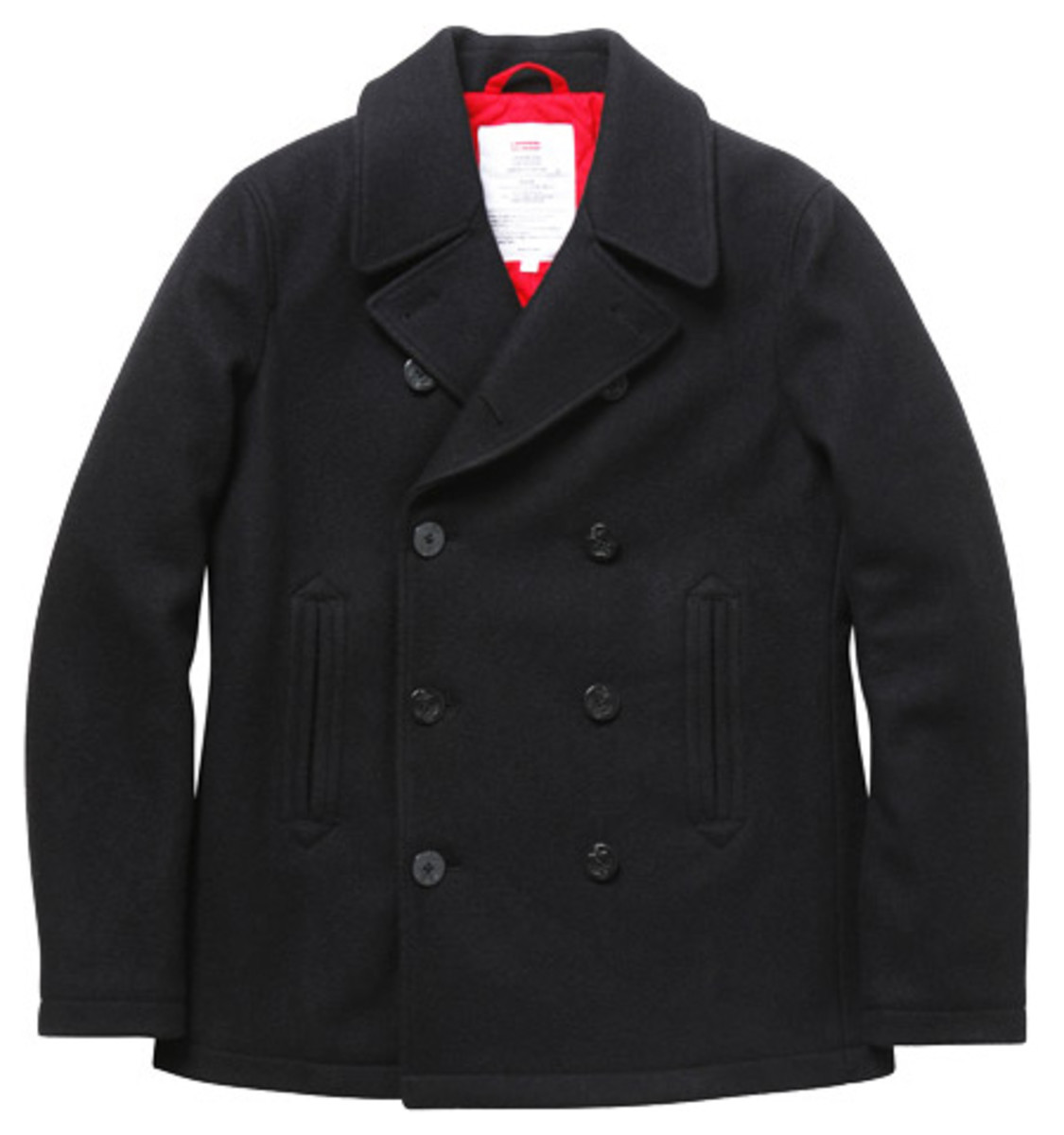 Supreme - Fall/Winter 2009 Collection - Wool Pea Coat (Black)