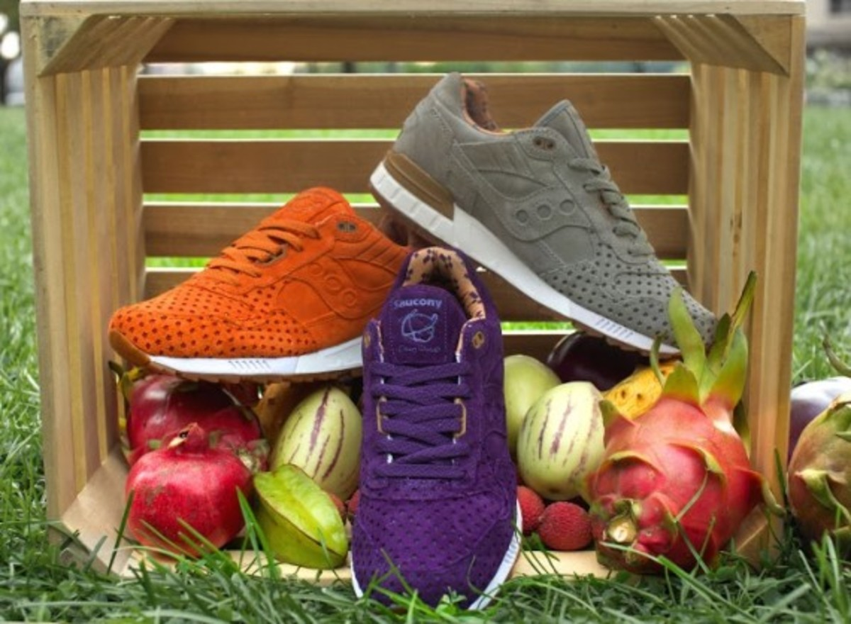 """Play Cloths x Saucony Shadow 5000 """"Strange Fruit"""" Pack - 11"""